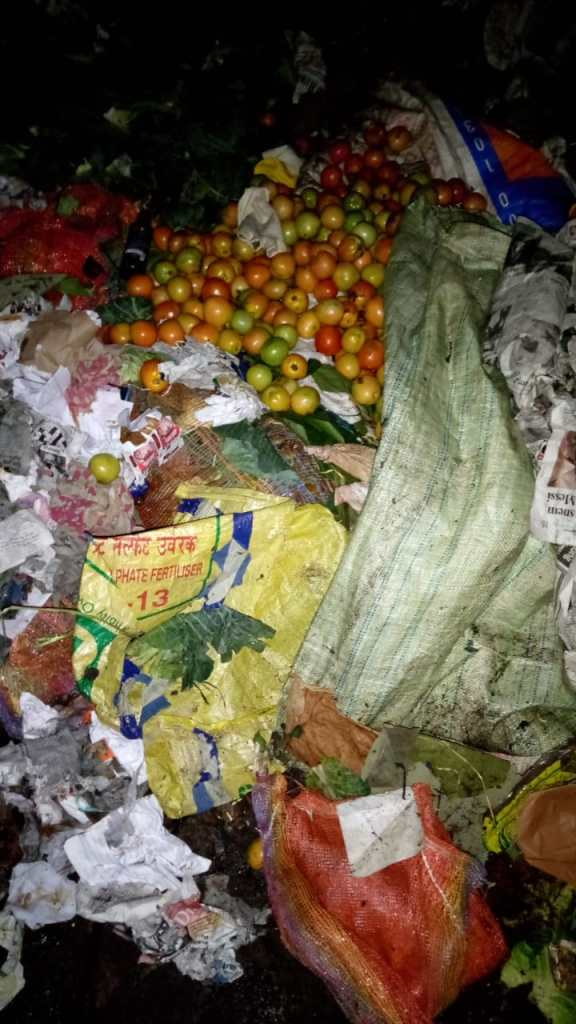 Shillong farmers are forced to throw away their rotting vegetables