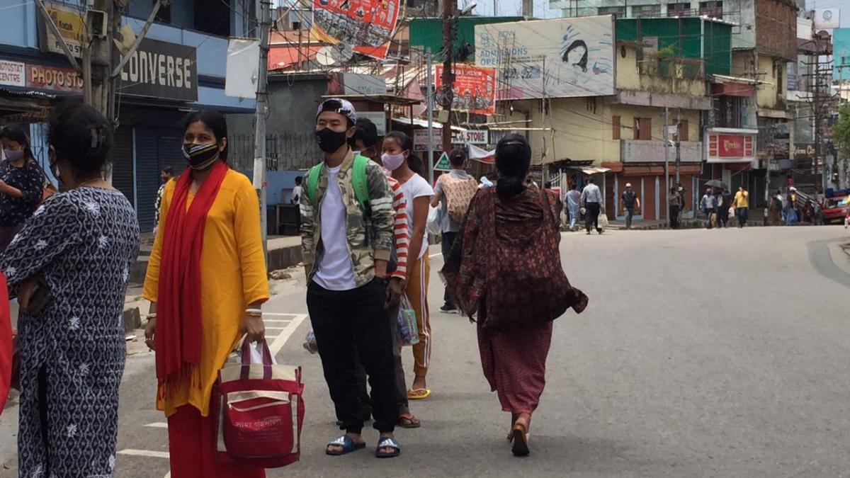 Watch: Day after lockdown orders, Shillong see long queues in markets