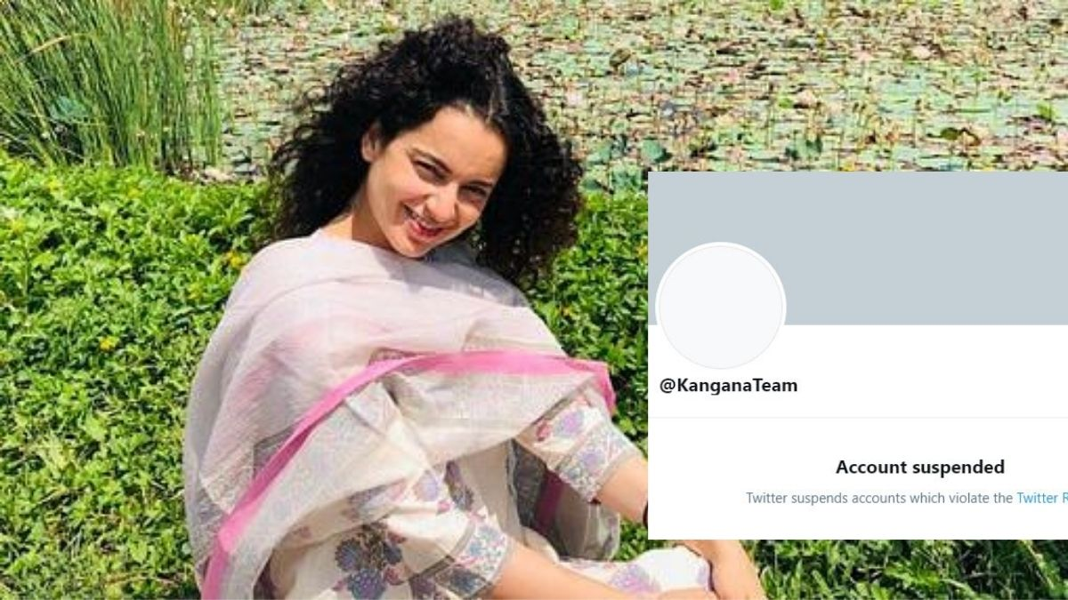 Kangana Ranaut's Twitter account permanently suspended - EastMojo