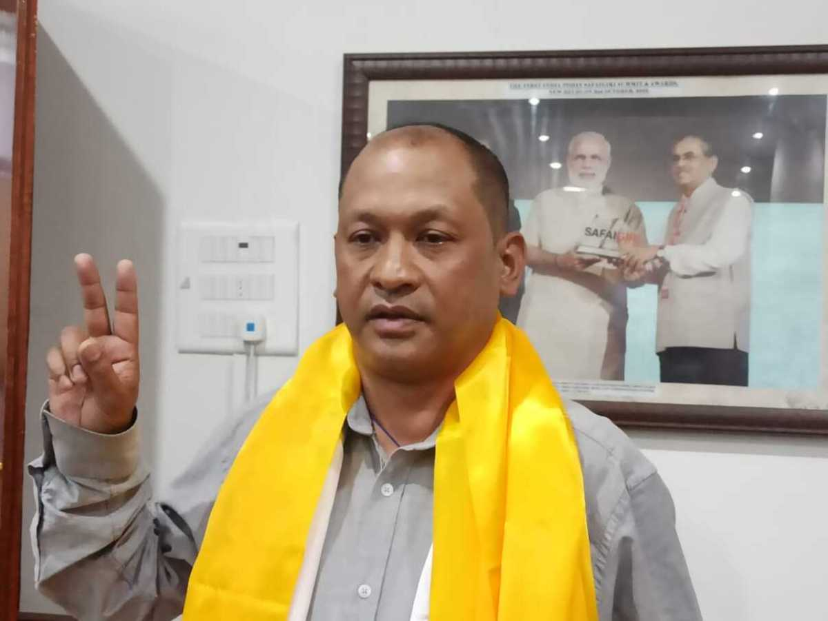 Sikkim: Suspense over, Nell Bahadur Chettri is new Gangtok mayor