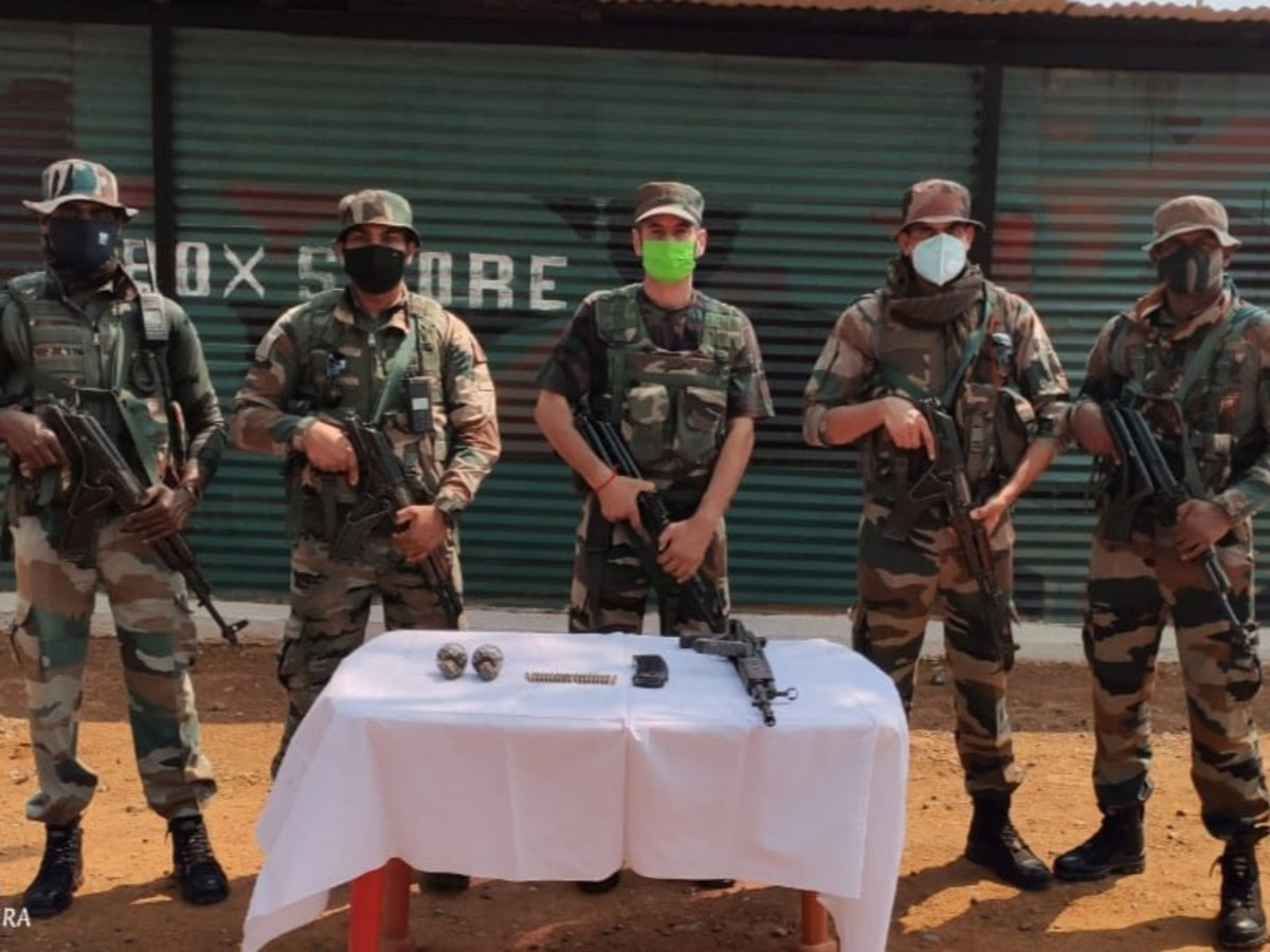 Assam Rifles seized Rs 1,600cr illegally traded goods in NE since 2020