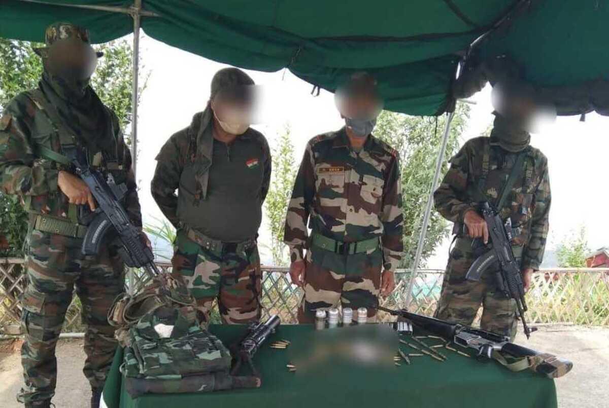 Manipur: Assam Rifles troops bust militant hideout in Tengnoupal jungle