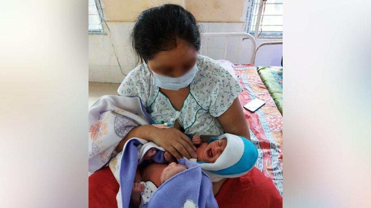 Assam: COVID infected lady gives birth to twins at AMCH