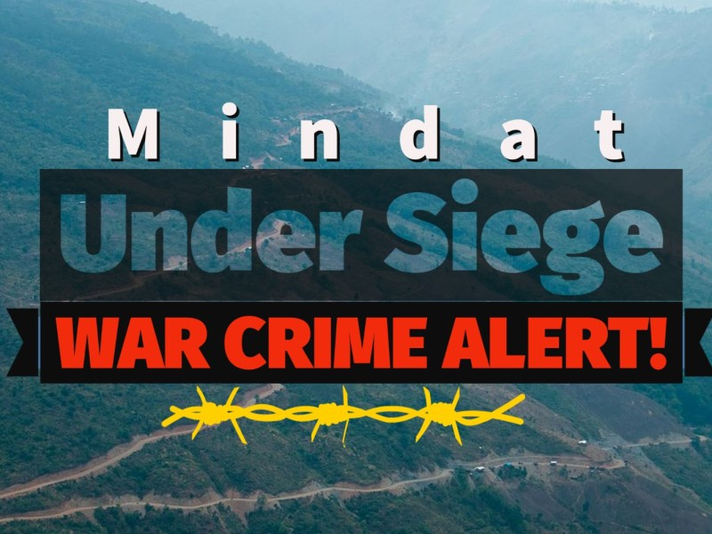 Chin State Myanmar