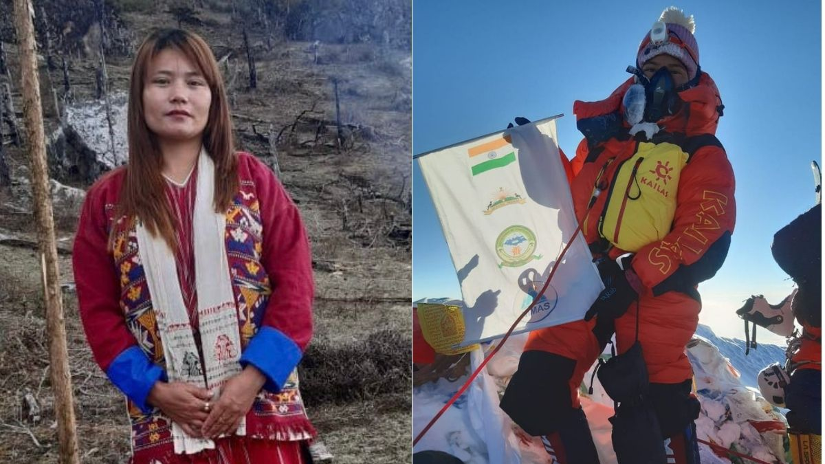 Arunachal's Tashi Yangjom becomes first Indian to scale Mt Everest this season