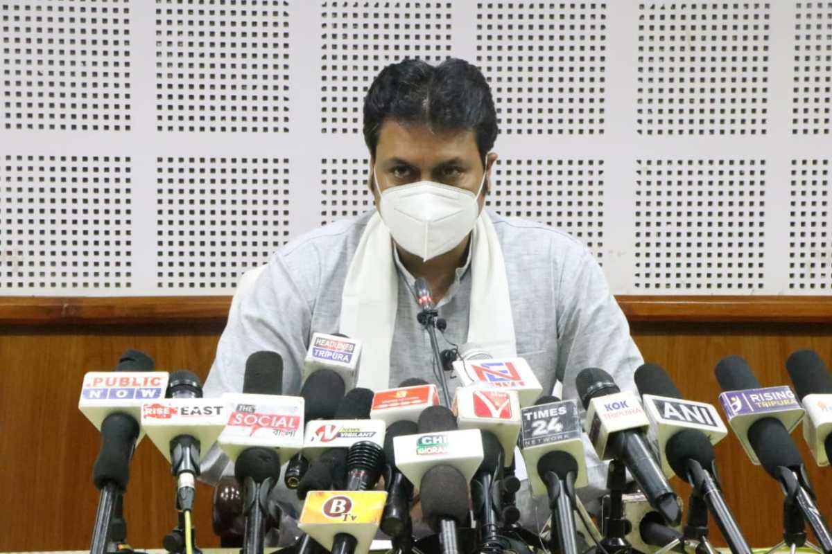 Tripura govt curbs 'unethical profiteering' by pvt hospitals during pandemic