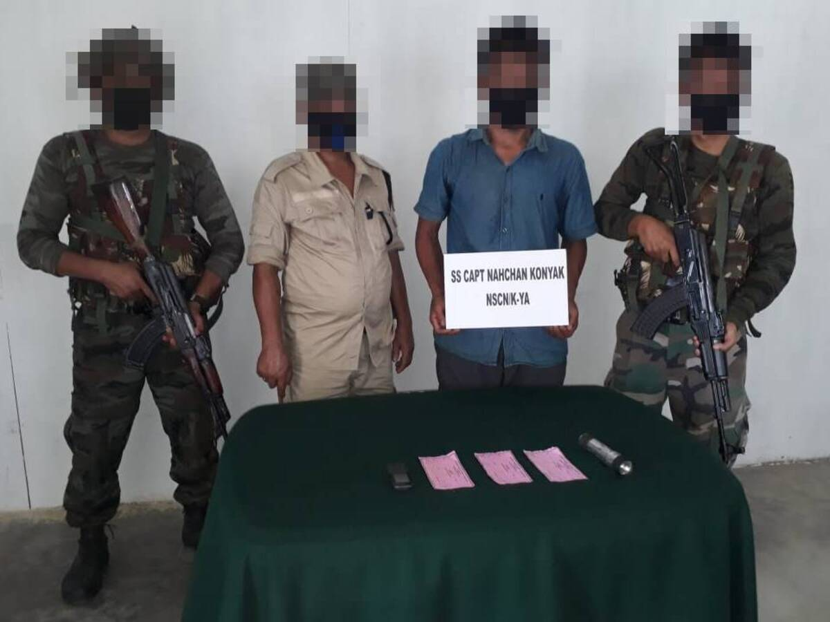 NSCN (K-YA) rebel involved in extortion along Nagaland-Arunachal border held