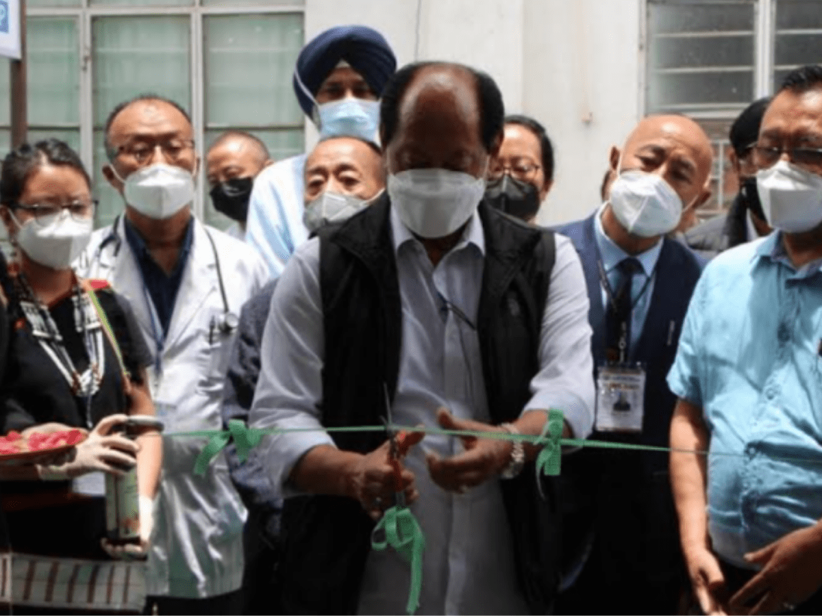 COVID-19: Nagaland CM launches oxygen generation plant in Phek