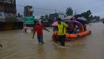 Monsoon in Tripura: How govt is bracing for floods amid COVID-19 crisis