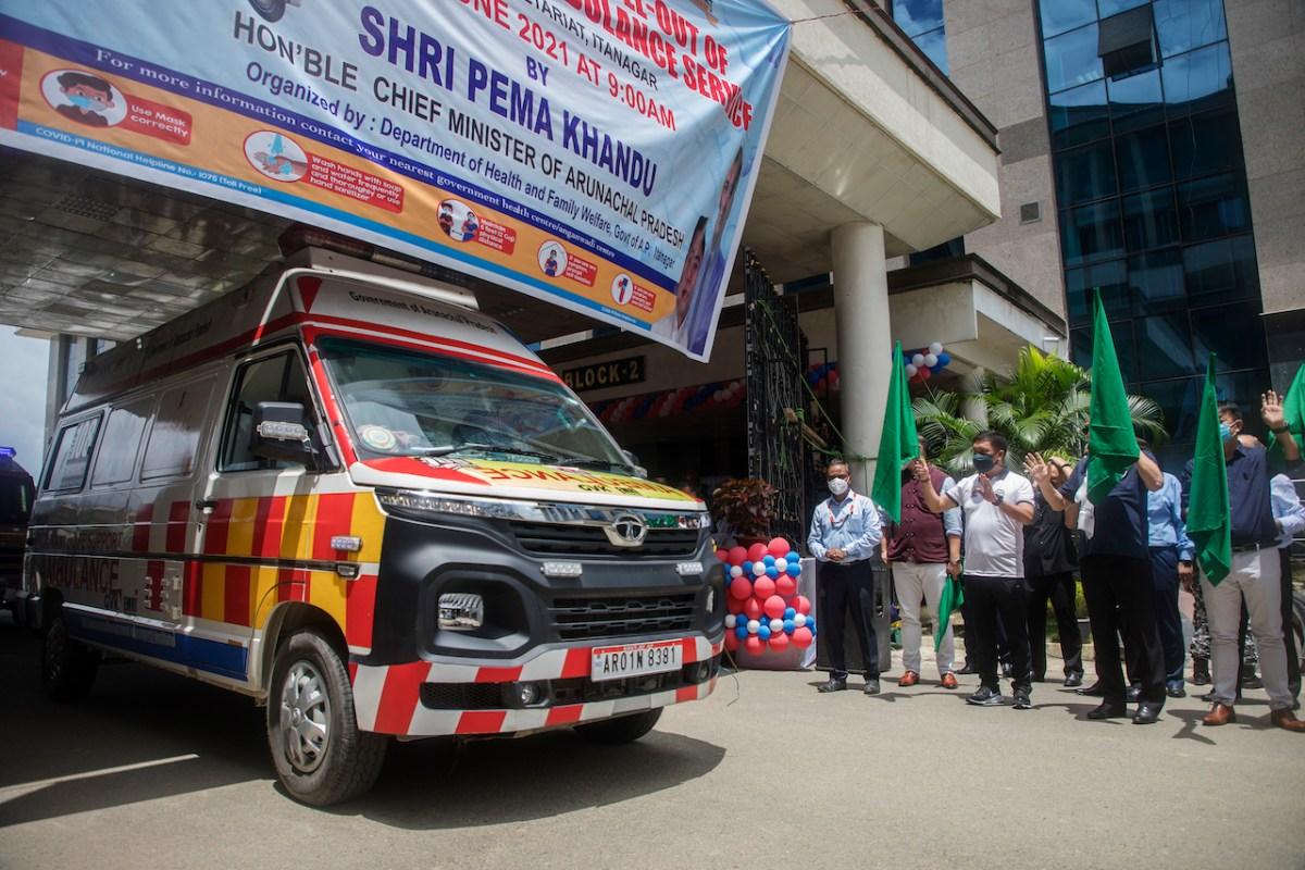 Arunachal ambulances