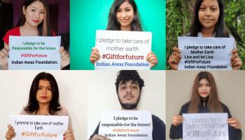 India Awaz Foundation to plant one tree for each pledge they receive