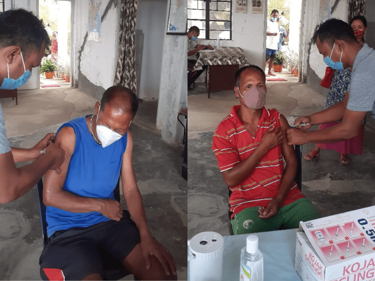 Meghalaya: 59 inmates of Tura Prisons get their first dose of COVID-19 vaccine