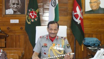 Lt Gen Pradeep Chandran Nair takes over as DG of Assam Rifles