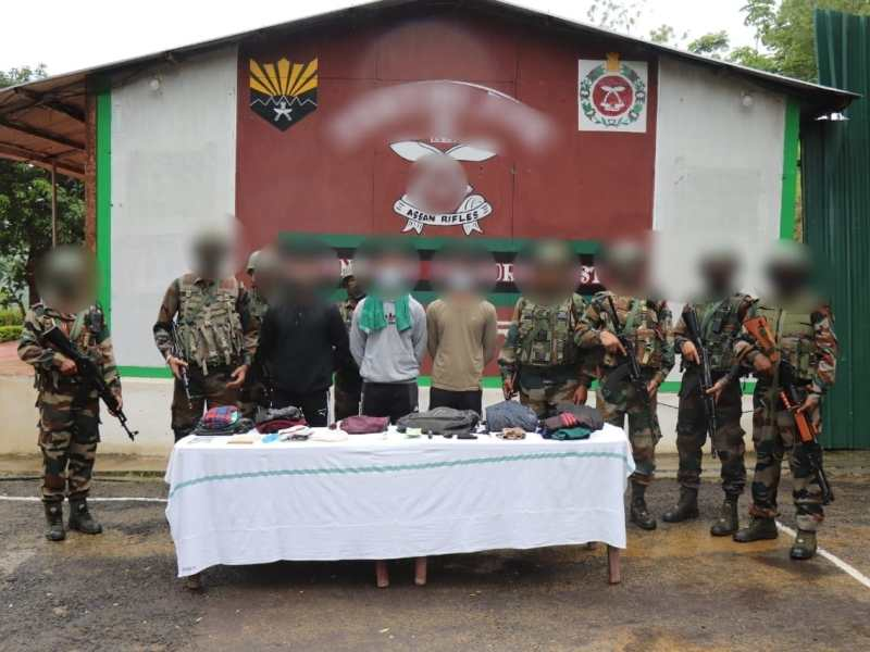 Manipur: 3 active militants of PLA arrested in Chandel district