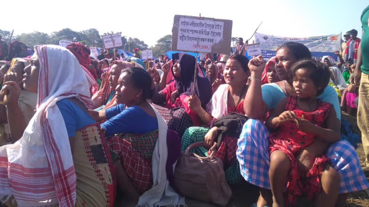 Assam: Homeless for 70 years, Laika Dodhia residents stare at uncertainty
