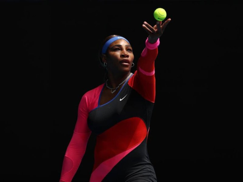 In tears, Serena Williams out of Wimbledon with injury