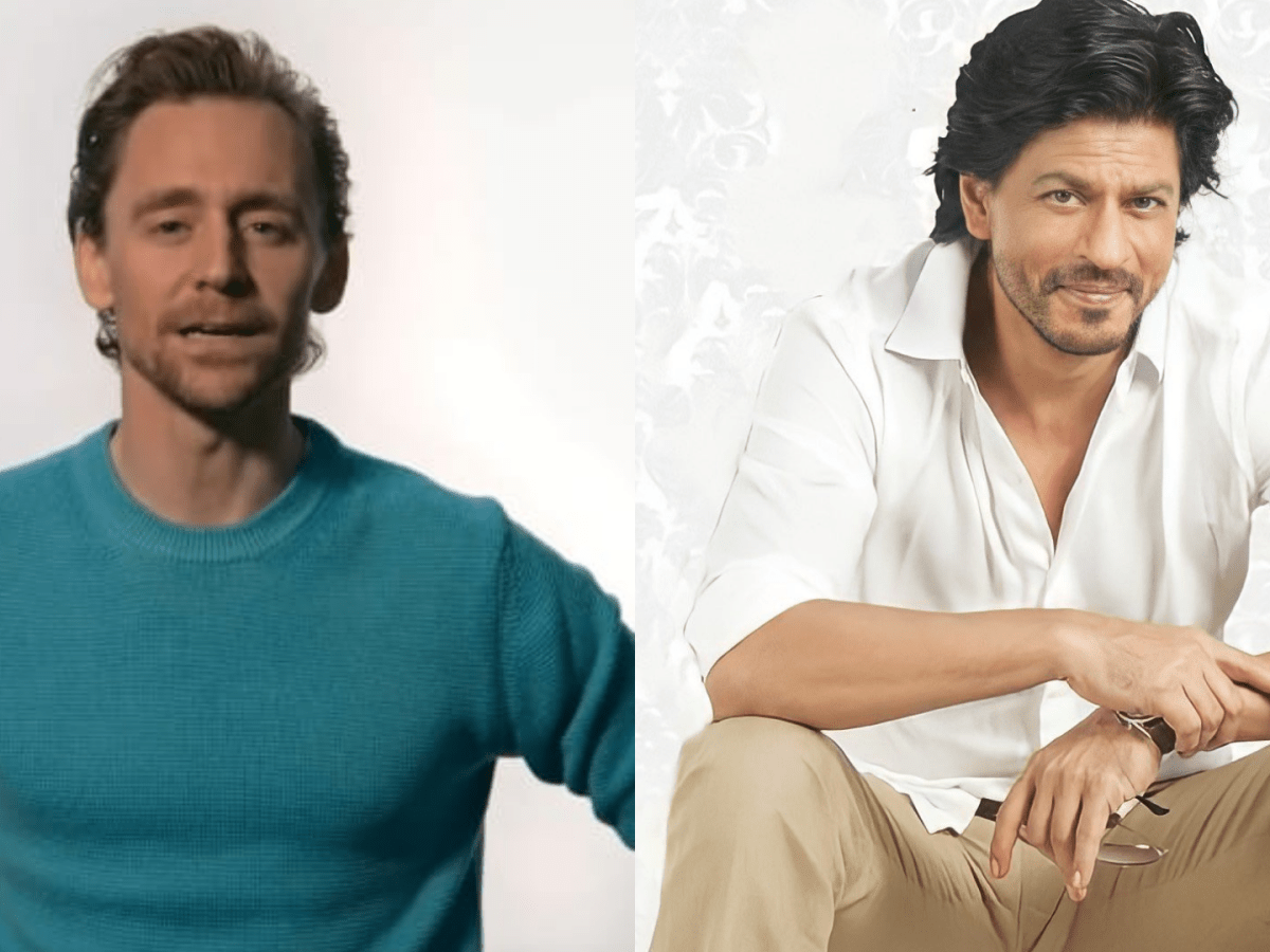 You are kind, God of Mischief: Shah Rukh Khan on Tom Hiddleston's love