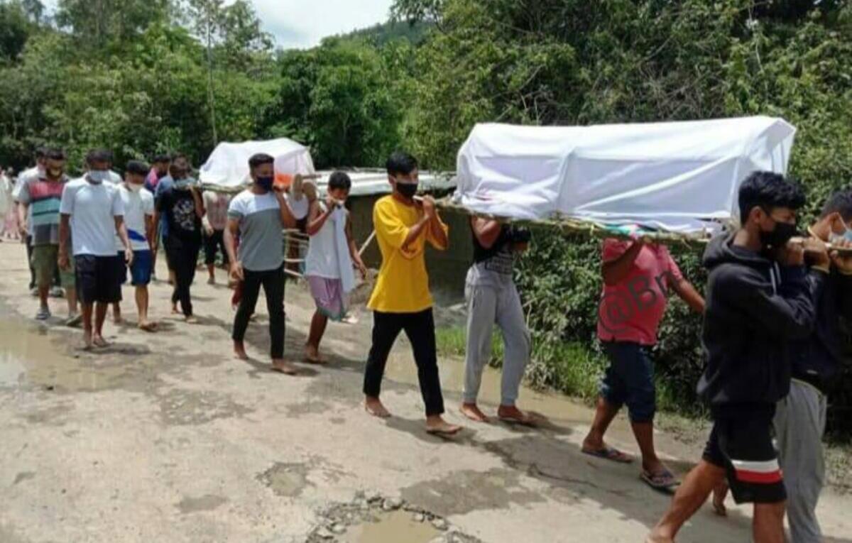 Manipur: 2 brothers drown in Kumbi Khuga river in Bishnupur district