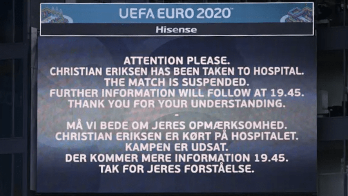 No rumours please: Christian Eriksen is alive, stable