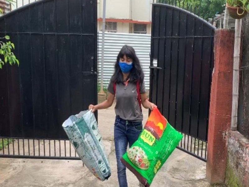 These young volunteers in Guwahati are reducing, reusing and recycling plastic