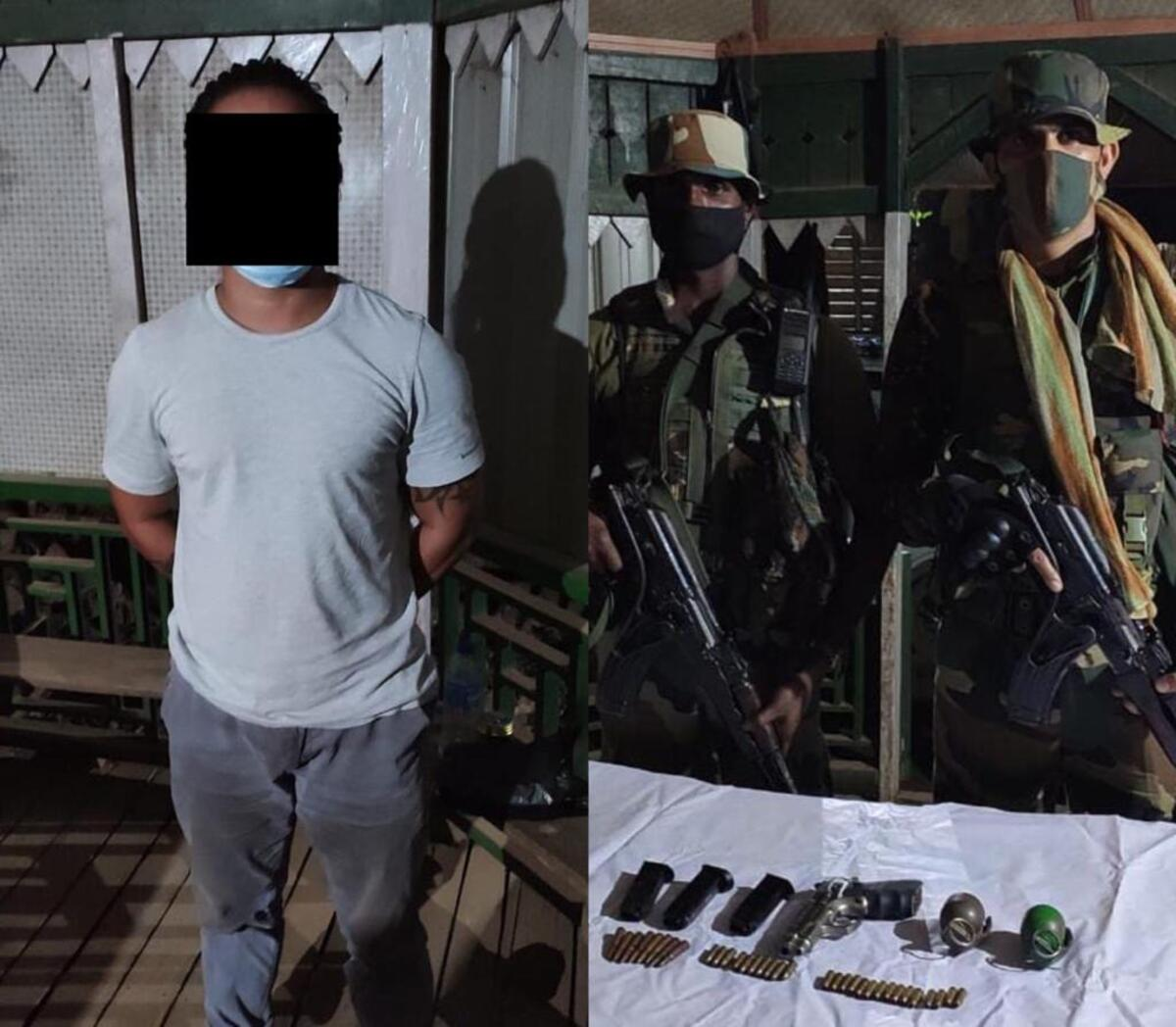 Manipur: KNA militant arrested in Moreh, arms and ammunition recovered