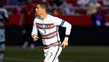 Watch: How Ronaldo reacts after Belgium beats Portugal in EURO 2020