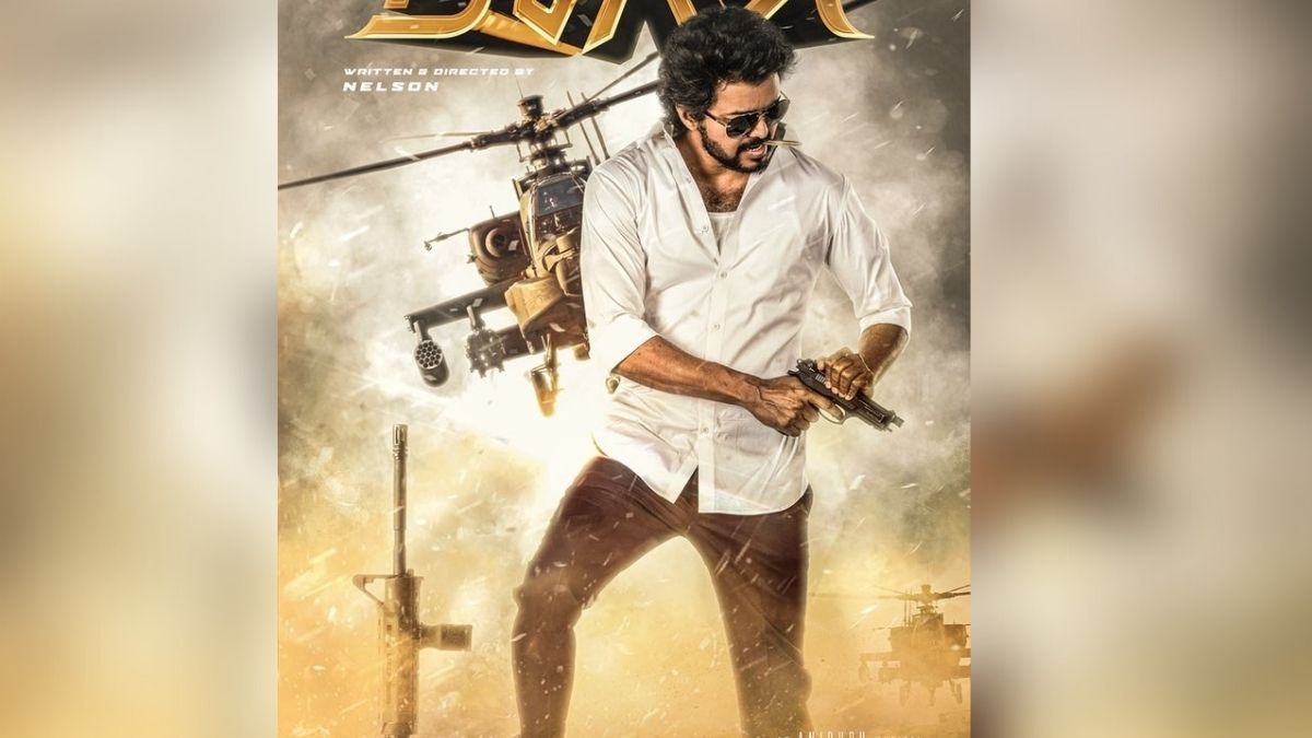 Thalapathy Vijay's 'Beast' second-look poster releases on his birthday