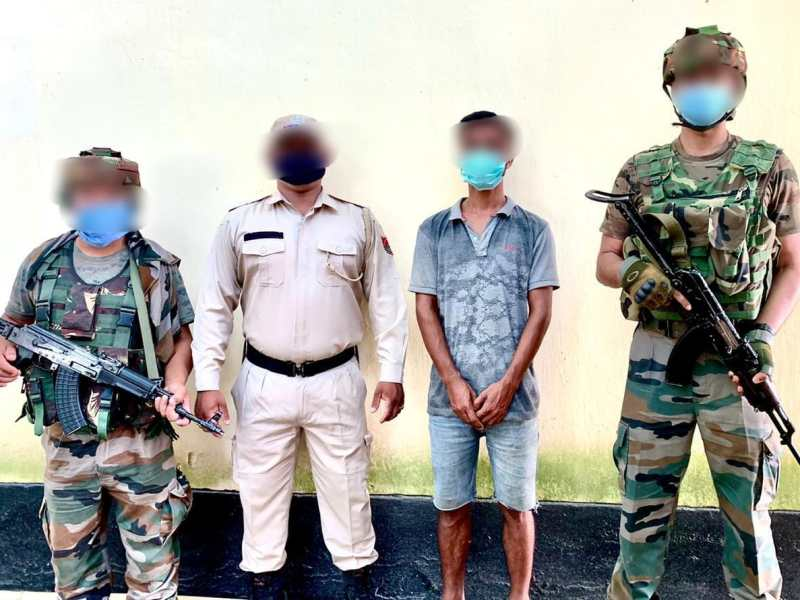 Manipur: PREPAK-Pro militant arrested in Bishnupur district