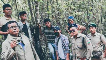 Manipur: Camera traps set up in Tamenglong village to capture image of tiger