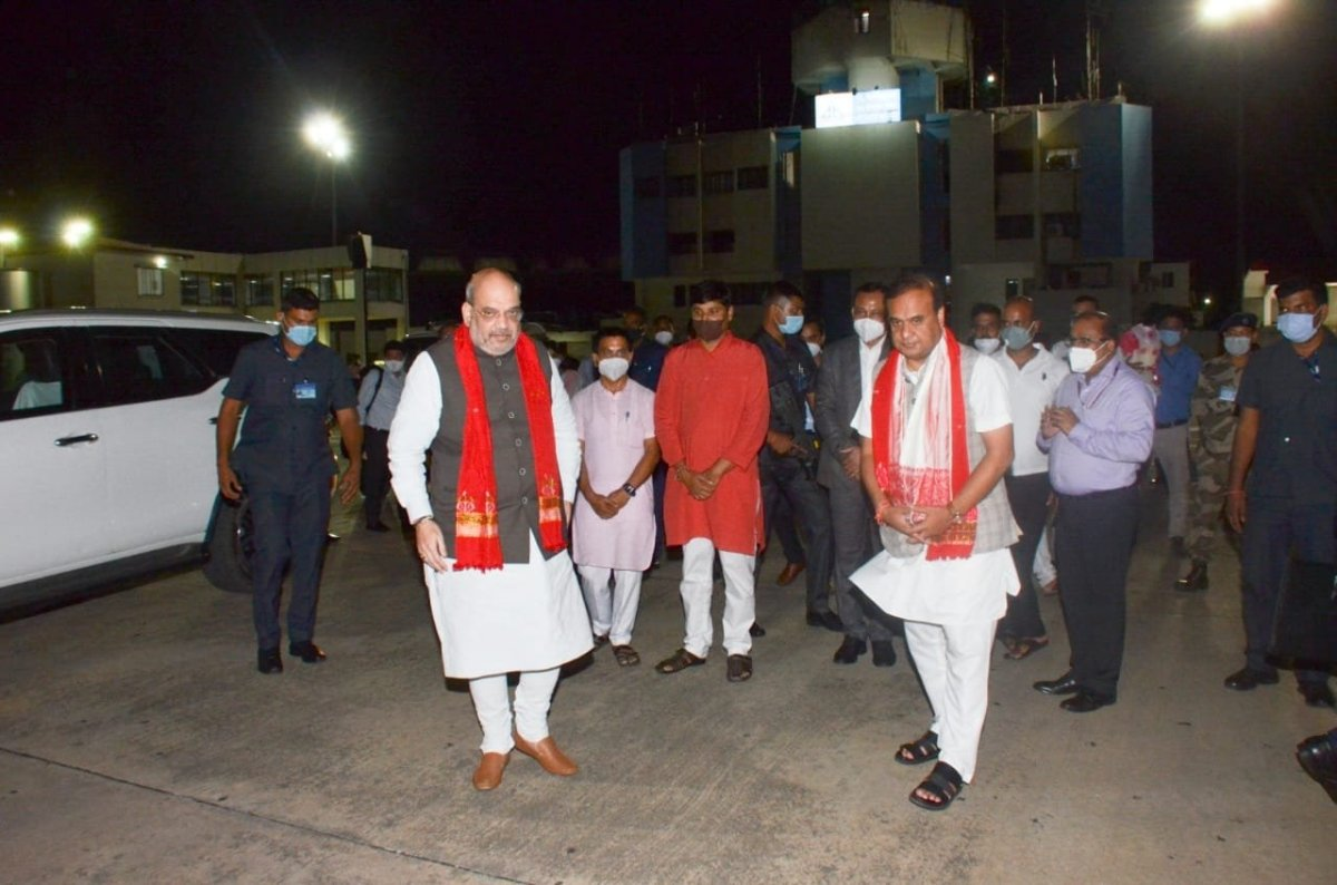 Mizoram-Assam border dispute