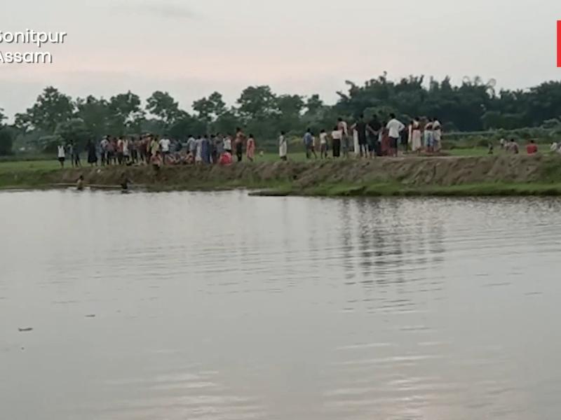 Watch: Teenage boys drown while taking bath in Sootea, Assam
