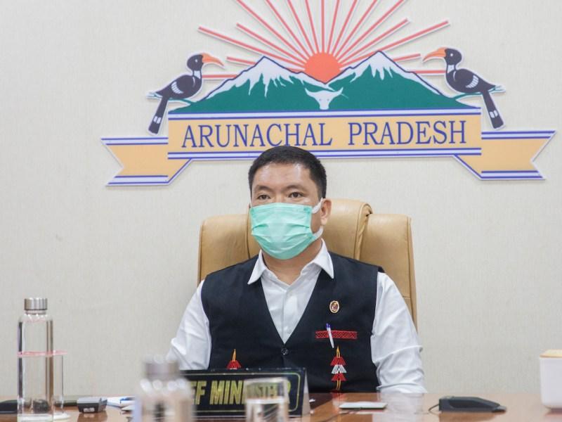 Pema Khandu said Arunachal Pradesh and Assam decide to resolve boundary issue out-of-court