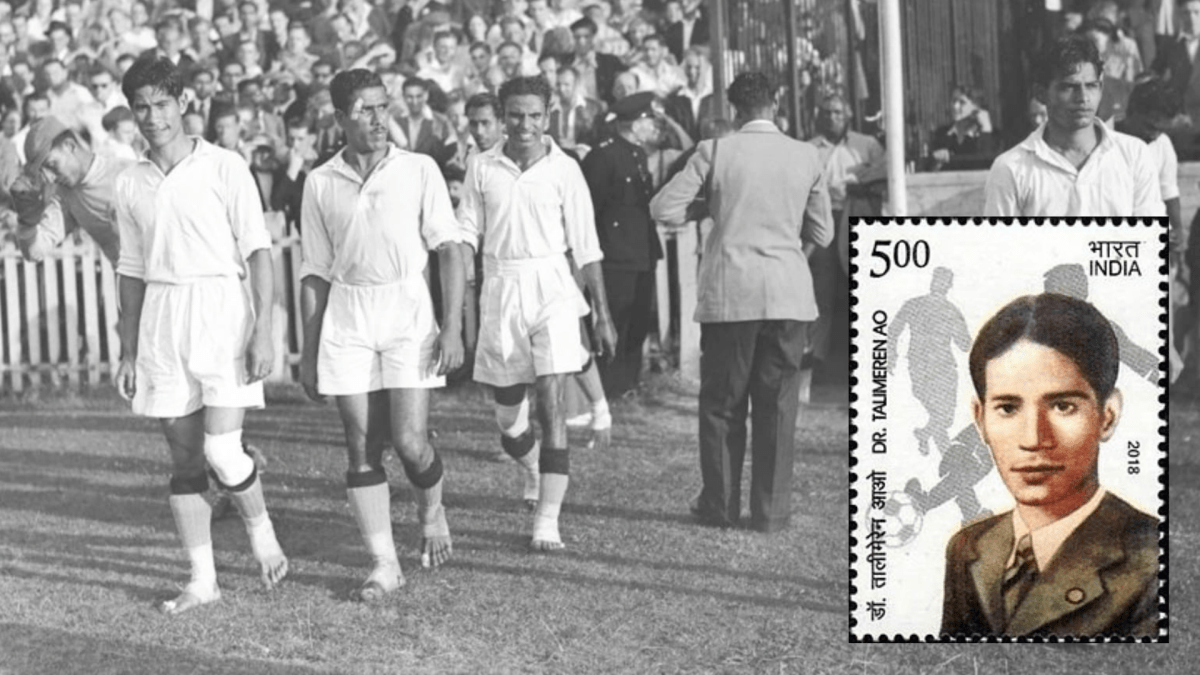 The Assam connection Dr Talimeren Ao, flag bearer of independent India's first Olympics