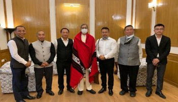 Chief Justice of India (CJI) NV Ramana met with a six-member delegation of the High Court bar (Kohima bench) in Delhi on Tuesday