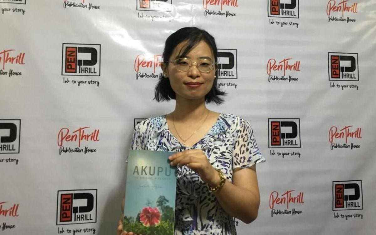 Nagaland: Nurse Inaholi Asumi releases debut book 'Akupu'