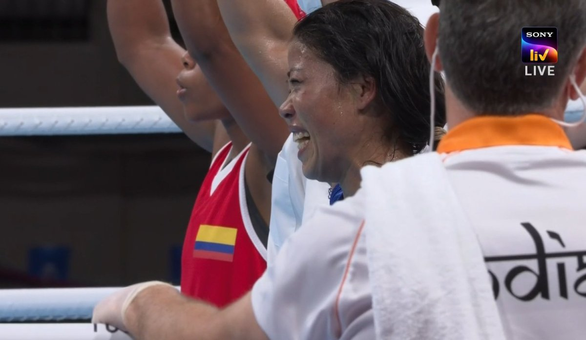 Tokyo 2020: Mary Kom loses in pre-quarter finals against Colombia's Ingrit Valencia