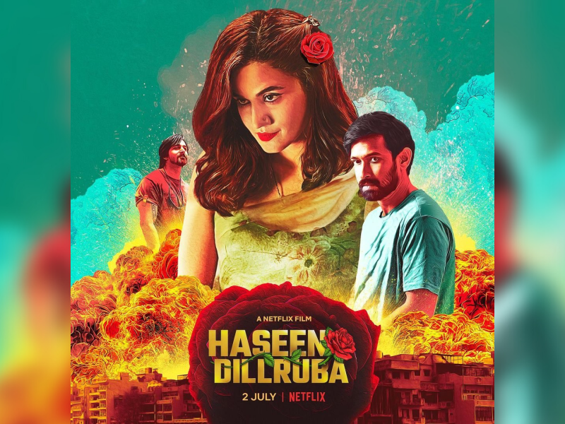 'Haseen Dillruba' review: Taapsee and Vikrant add credibility to a racy, engrossing whodunit thriller