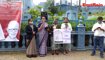 Watch: Shillong mourns the death of Tribal rights activist Fr Stan Swamy
