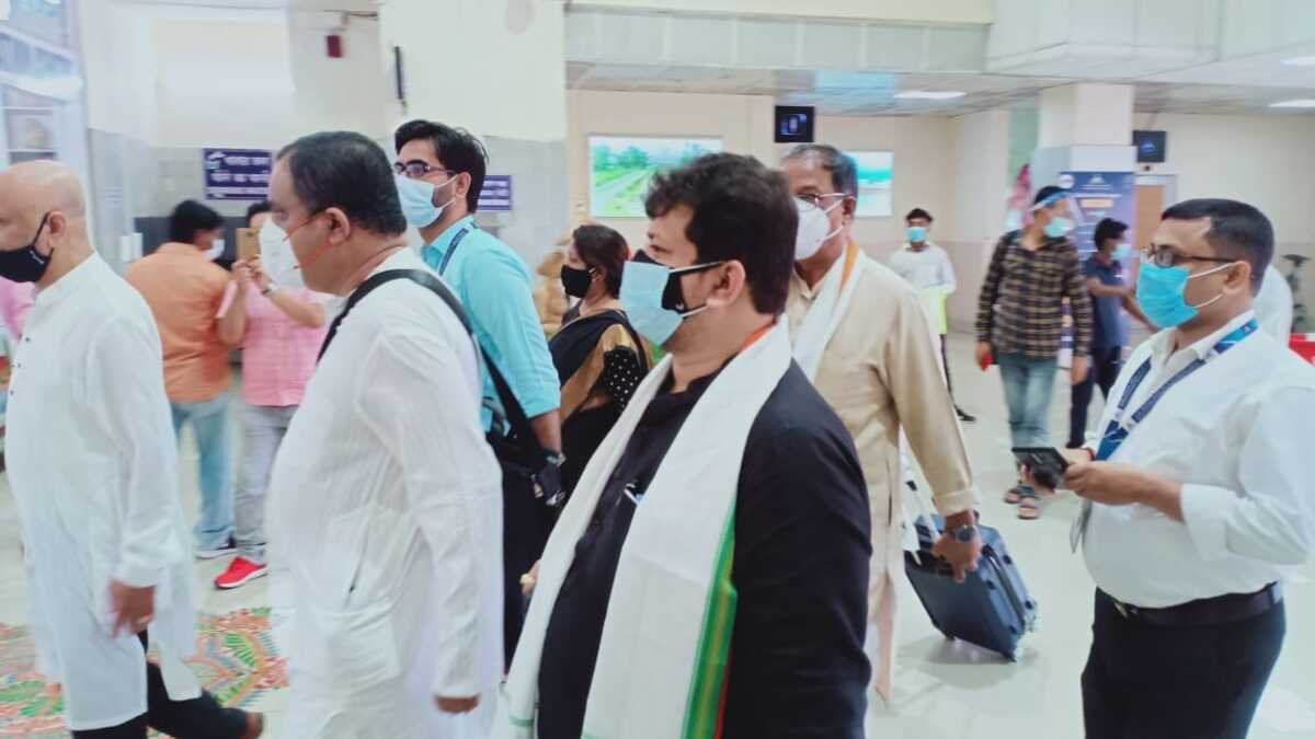 3-member TMC delegation reaches Agartala