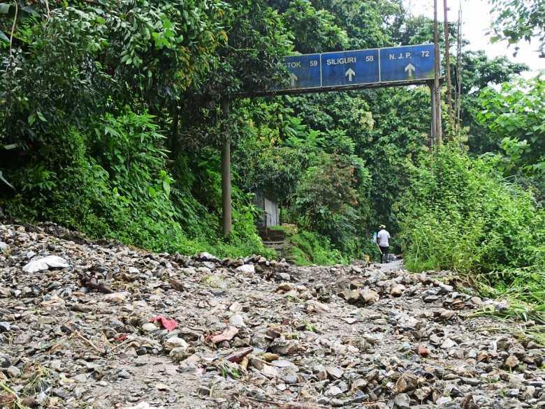 sikkim landslides