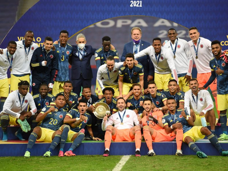 2 goals by Diaz gives Colombia 3rd place at Copa America