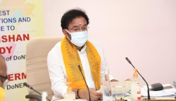 DoNER minister stresses on completion of all projects in Northeast on time