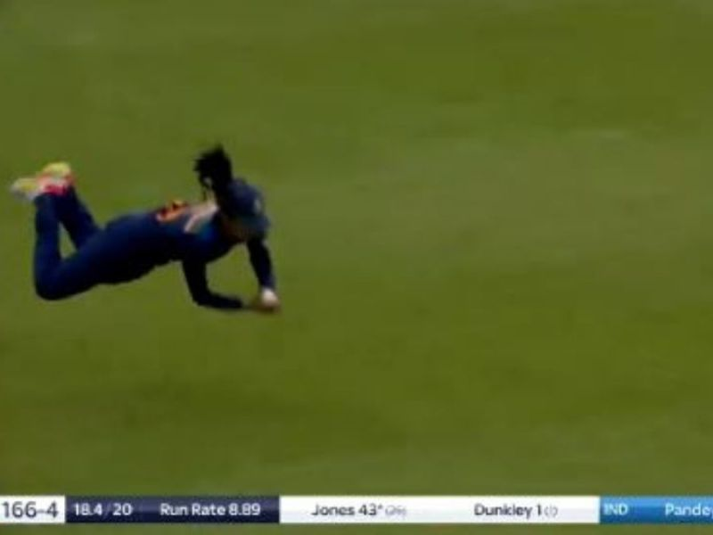 Harleen Deol's brilliant catch against team England stuns Cricket fans