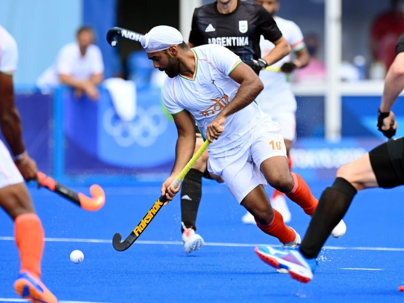 Dominant India beat Argentina 3-1 to seal QF berth in Olympic men's hockey