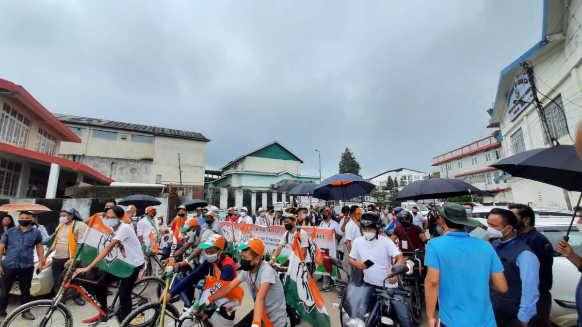 Forming opposition-less govt on pretext of Naga issue is insulting: Nagaland Congress