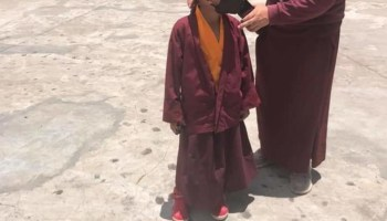 Sikkim monks