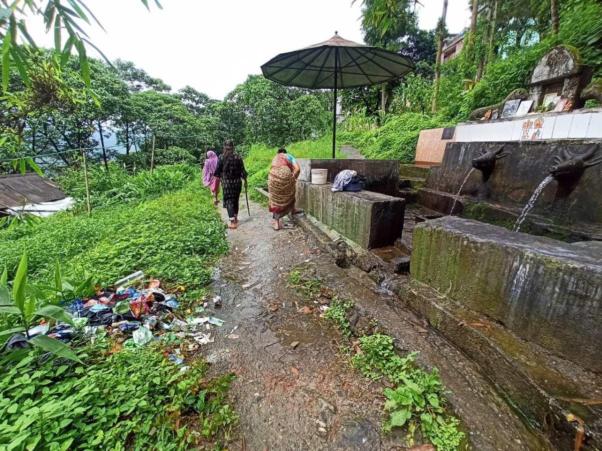 Sikkim pollution