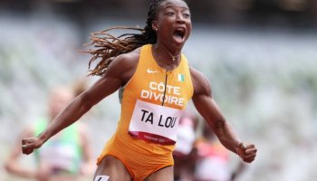 'Wow! Wow!' Women get Olympic track off to a sizzling start
