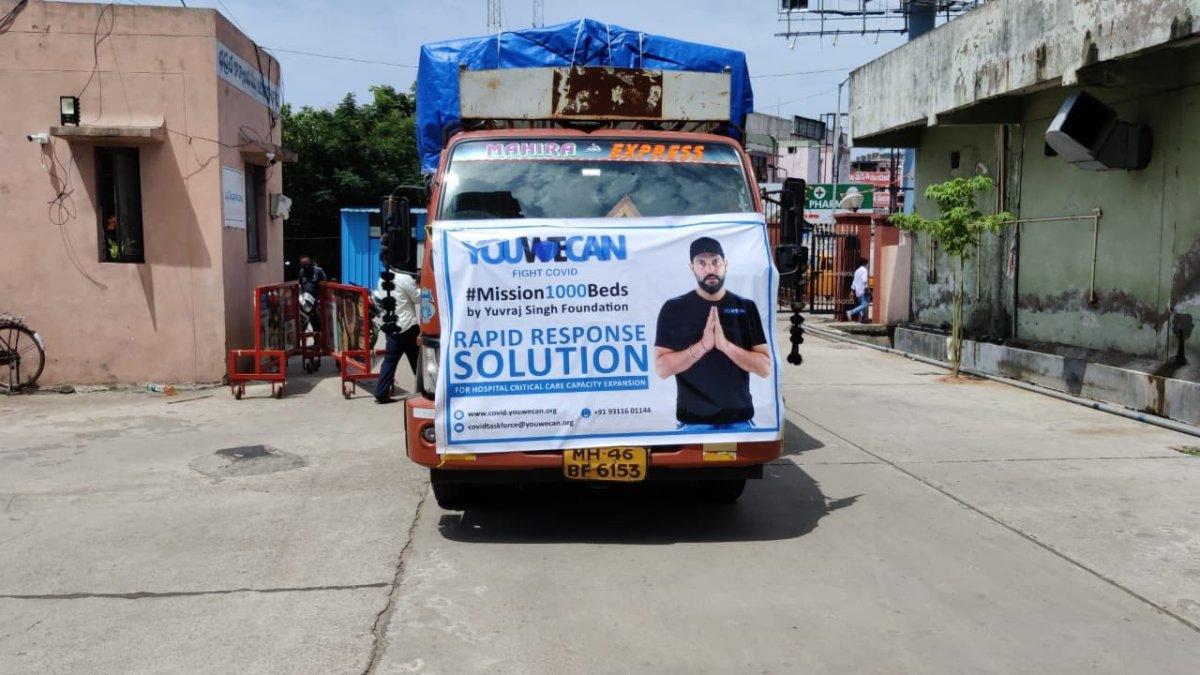 Yuvraj Singh Foundation to set up 100-bedded paediatric ICU at Assam hospital