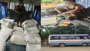 Burmese supari, heroin seized by Assam Police from Mizoram bus